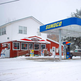 CONVENIENCE STORE AND GAS STATION IN GLENBURN